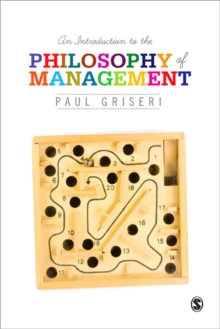 An Introduction to the Philosophy of Management, Paperback Book