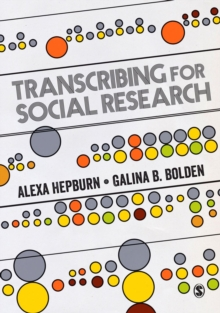 Transcribing for Social Research, Paperback / softback Book