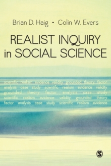 Realist Inquiry in Social Science, Paperback Book