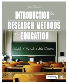 Introduction to Research Methods in Education, Paperback Book