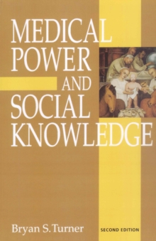 Medical Power and Social Knowledge, PDF eBook