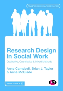 Research Design in Social Work : Qualitative and Quantitative Methods, Paperback / softback Book