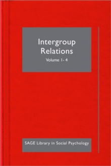 Intergroup Relations, Hardback Book