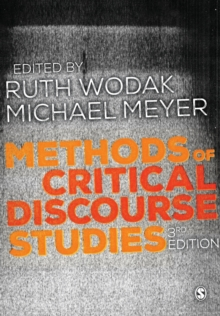Methods of Critical Discourse Studies, Paperback / softback Book