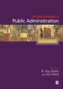 The Sage Handbook of Public Administration, Paperback Book