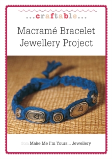 Macrame Bracelet Jewellery Project, EPUB eBook