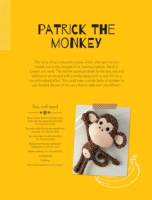 Patrick the Monkey Soft Toy Pattern, PDF eBook