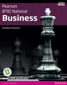 BTEC Nationals Business Student Book 1 : For the 2016 specifications, PDF eBook