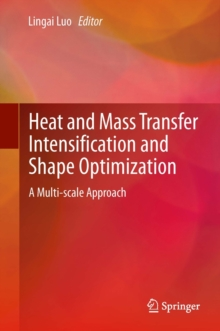 Heat and  Mass Transfer Intensification and Shape Optimization : A Multi-scale Approach, Hardback Book