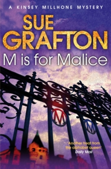 M is for Malice, Paperback Book