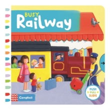 Busy Railway, Board book Book