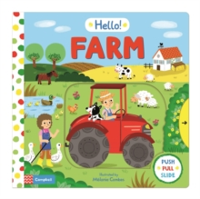Hello! Farm, Board book Book