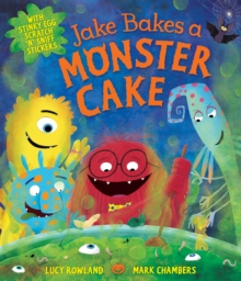 Jake Bakes a Monster Cake, Paperback Book