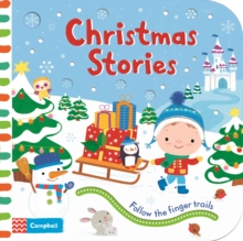 Christmas Stories : Follow the Finger Trails, Board book Book