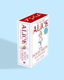 Alice: 100 Postcards from Wonderland, Cards Book