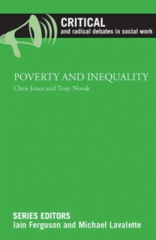 Poverty and inequality, Paperback / softback Book