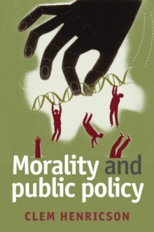 Morality and Public Policy, Paperback Book