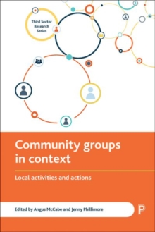 Community Groups in Context : Local Activities and Actions, Hardback Book