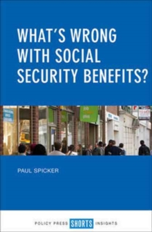 What's Wrong with Social Security Benefits?, Paperback Book