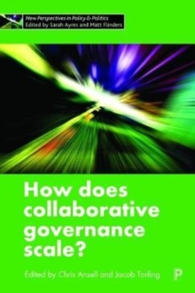 How does collaborative governance scale?, Hardback Book