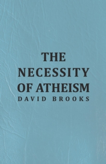 The Necessity of Atheism, EPUB eBook