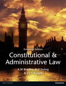 Constitutional and Administrative Law, Paperback / softback Book
