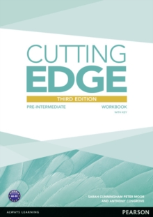 Cutting Edge 3rd Edition Pre-Intermediate Workbook with Key, Paperback / softback Book
