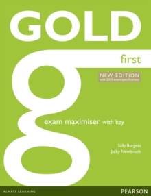 Gold First New Edition Maximiser with Key, Paperback / softback Book