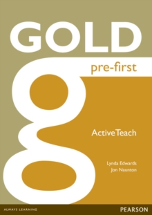 Gold Pre-First Active Teach, CD-ROM Book
