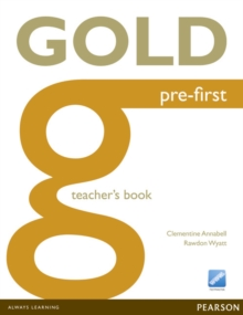 Gold Pre-First Teacher's Book, Paperback / softback Book