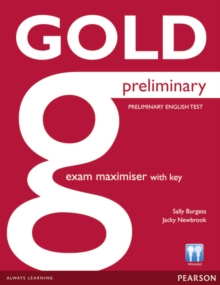 Gold Preliminary Maximiser with Key, Paperback / softback Book