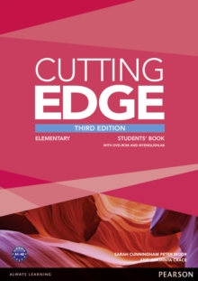 Cutting Edge 3rd Edition Elementary Students' Book and DVD Pack, Mixed media product Book