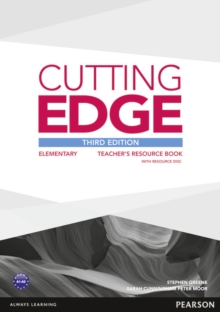 Cutting Edge 3rd Edition Elementary Teacher's Book with Teacher's Resources Disk Pack, Mixed media product Book