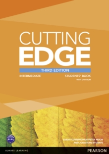 Cutting Edge 3rd Edition Intermediate Students' Book and DVD Pack, Mixed media product Book
