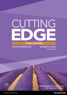 Cutting Edge 3rd Edition Upper Intermediate Students' Book and DVD Pack, Mixed media product Book