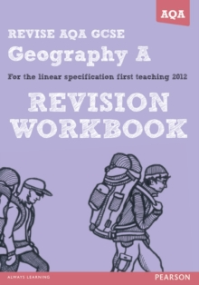 REVISE AQA: GCSE Geography Specification A Revision Workbook, Paperback / softback Book
