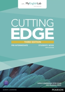 Cutting Edge 3rd Edition Pre-Intermediate Students' Book with DVD and MyEnglishLab Pack, Mixed media product Book