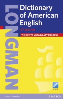 Longman Dictionary of American English 5 Paper & Online (HE), Mixed media product Book