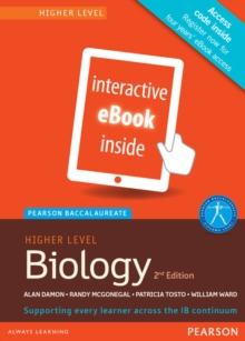 Pearson Baccalaureate Biology Higher Level 2nd Edition eBook Only Edition (eText) for the Ib Diploma, Cards Book