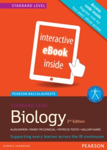 Pearson Baccalaureate Biology Standard Level 2nd edition ebook only edition (etext) for the IB Diploma, Cards Book