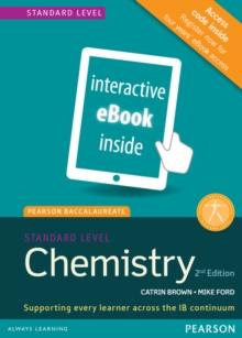 Pearson Baccalaureate Chemistry Standard Level 2nd edition ebook only edition (etext) for the IB Diploma, Cards Book