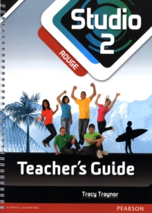 Studio 2 Rouge Teacher Guide New Edition, Spiral bound Book