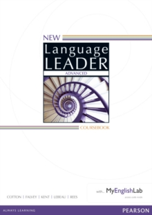 New Language Leader Advanced Coursebook with MyEnglishLab Pack, Mixed media product Book