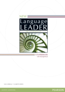 New Language Leader Pre-Intermediate Coursebook with MyEnglishLab Pack, Mixed media product Book