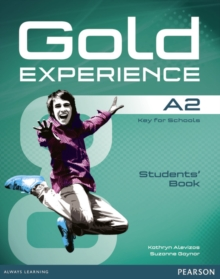 Gold Experience A2 Students' Book with DVD-ROM Pack, Mixed media product Book