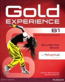 Gold Experience B1 Students' Book with DVD-ROM/MyLab Pack, Mixed media product Book