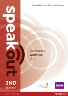 Speakout Elementary 2nd Edition Workbook with Key, Paperback / softback Book