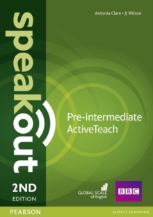 Speakout Pre-Intermediate 2nd Edition Active Teach, CD-ROM Book