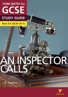 An Inspector Calls: York Notes for GCSE (9-1), Paperback / softback Book