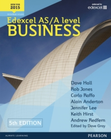 Edexcel AS/A level Business 5th edition Student Book and ActiveBook, Mixed media product Book
